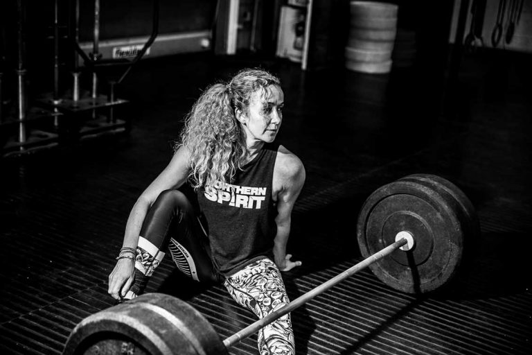crossfit shoot at the gym