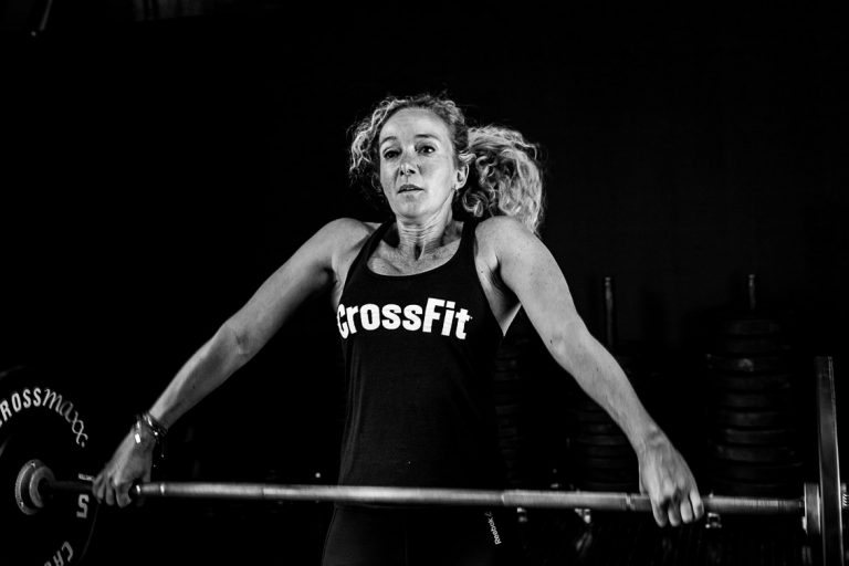 crossfit foto black and white