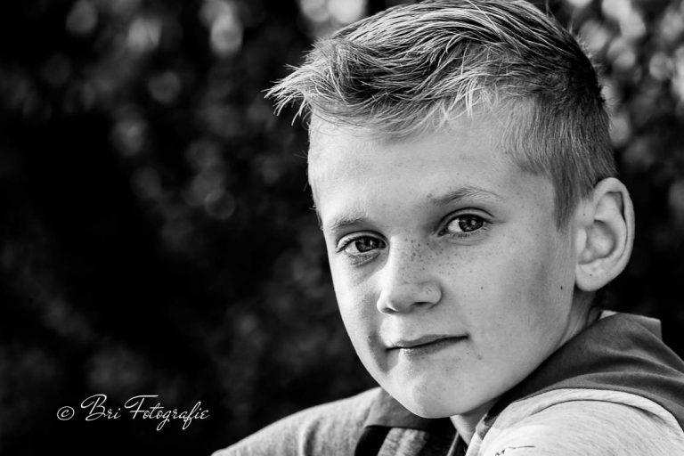 portretfoto zwartwit bri- fotografie