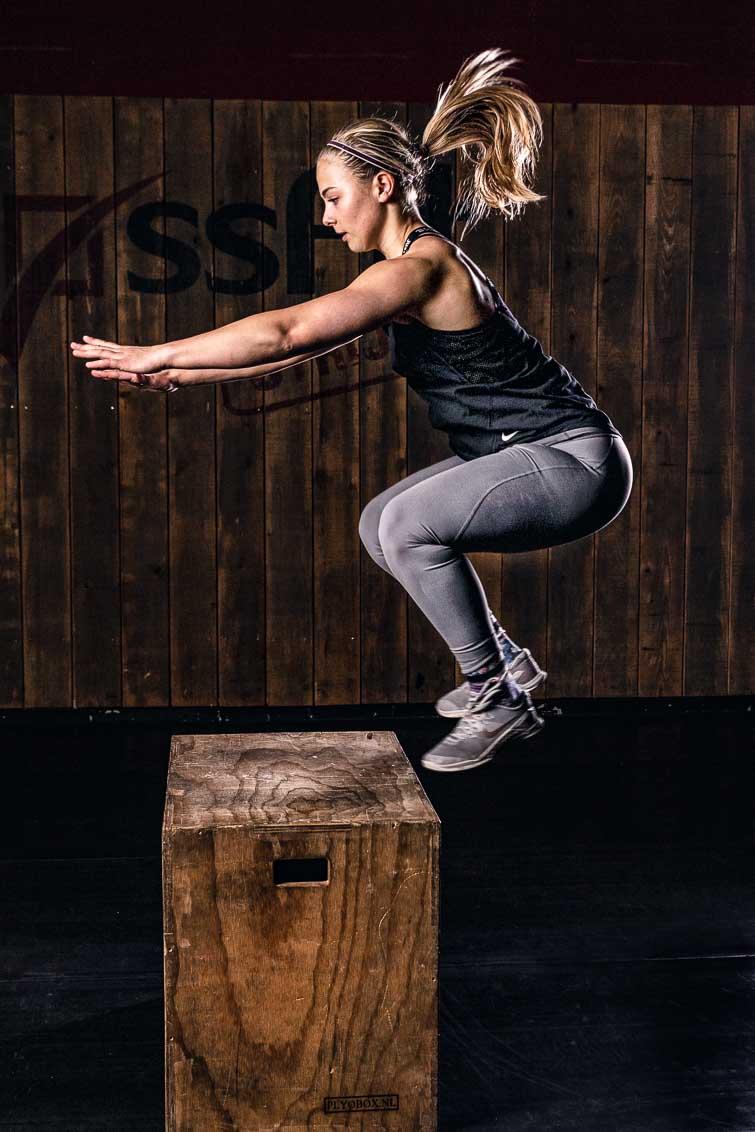 crossfit box jump